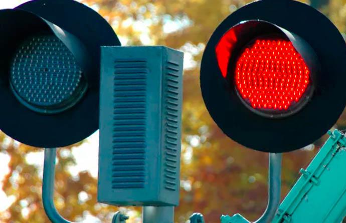 Штраф за поворот на красный свет