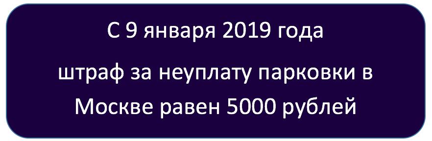 Стоимость штрафстоянки в Москве в 2020 году