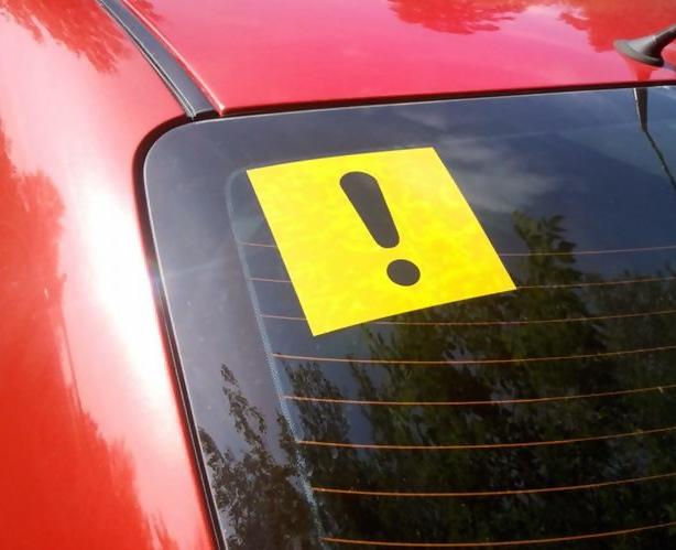 Штраф за отсутствие знака начинающий водитель в 2020 и 2020 году